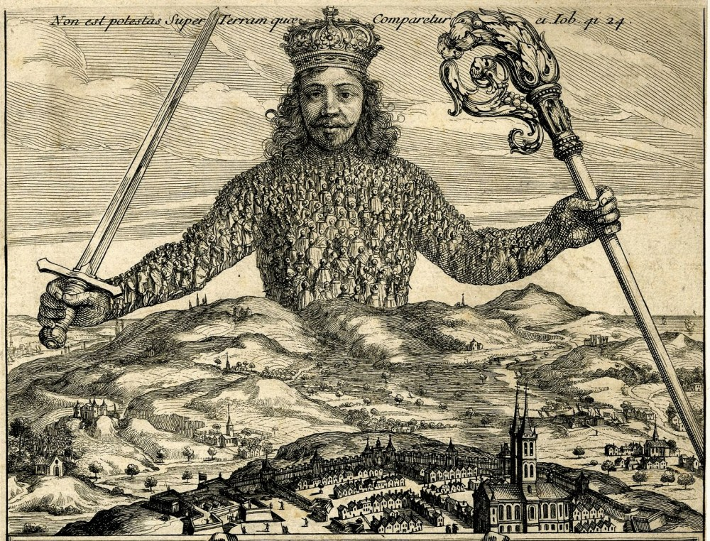 1651. Thomas Hobbes. «Leviathan or The Matter, Forme and Power of a Common-Wealth Ecclesiasticall and Civil».jpg
