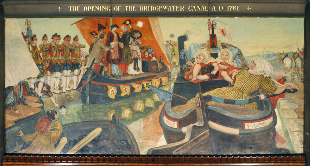 1761. The Opening of the Bridgewater Canal.jpg