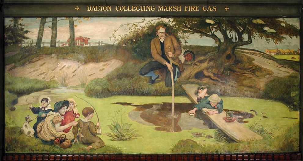 1803. Dalton Collecting Marsh Fire Gas.jpg