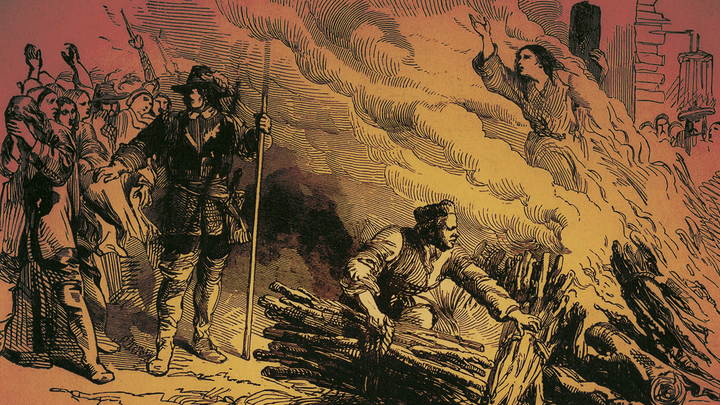 1692-1693. Pioneers in the Settlement of America. Salem Witchcraft Trial..jpg