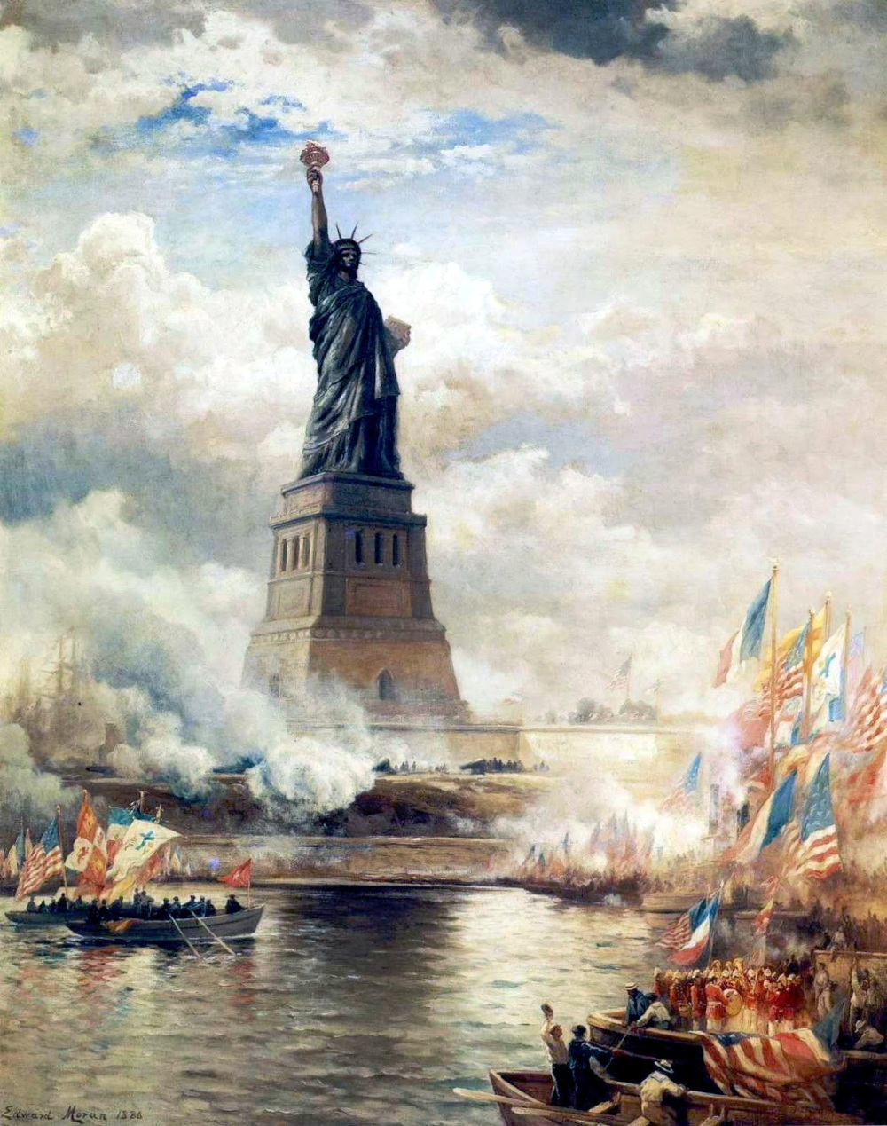 1886. Statue of Liberty unveiled.jpg