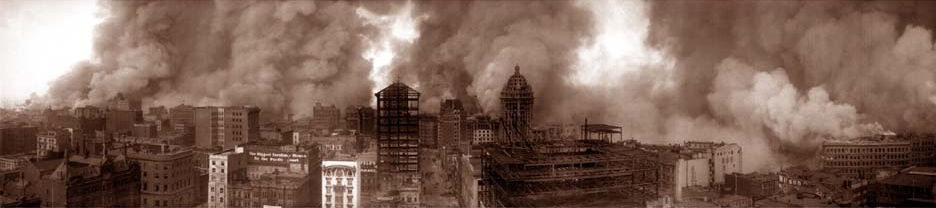 1906. The burning of San Francisco, April 18, [19]06, view from St. Francis Hotel.jpg