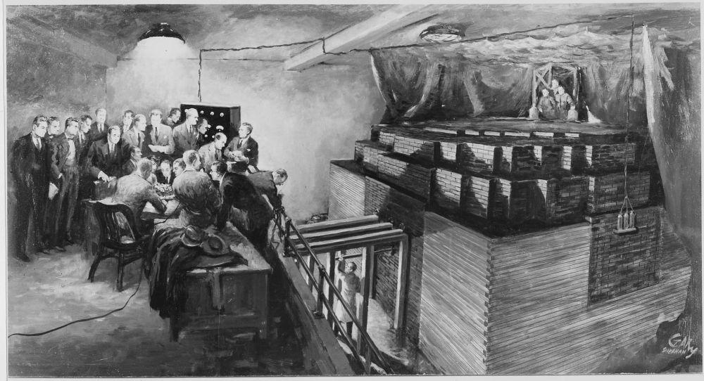 1942. First nuclear chain reaction.jpg
