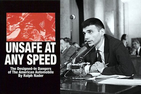 1965. «Unsafe at Any Speed. The Designed-In Dangers of the American Automobile».jpg