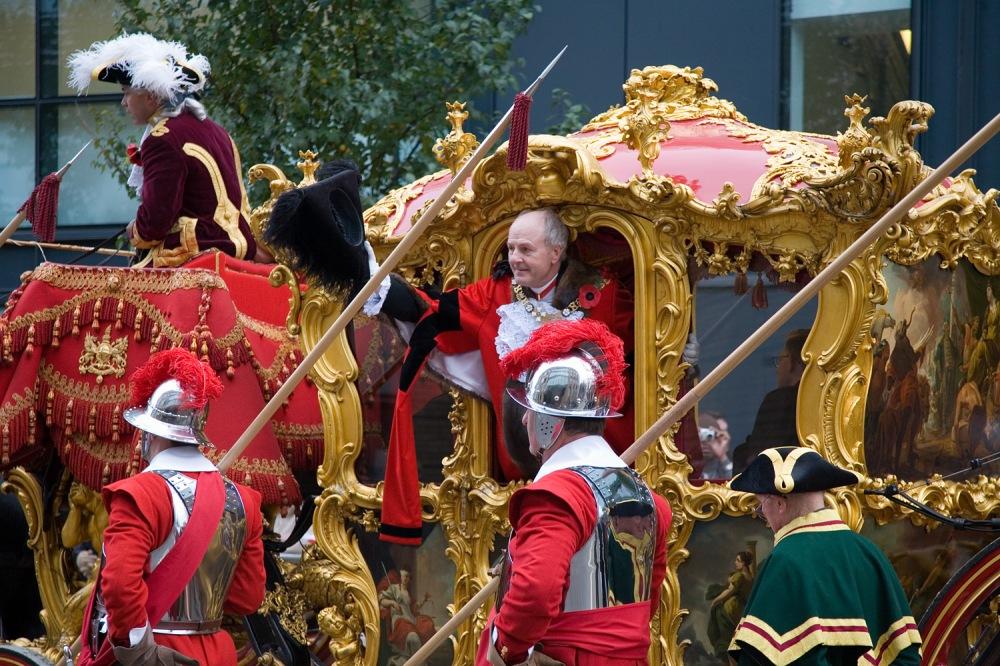 2006. John Stuttard, Lord Mayor of London during the 2006 Lord Mayor's Show (11 November).jpg
