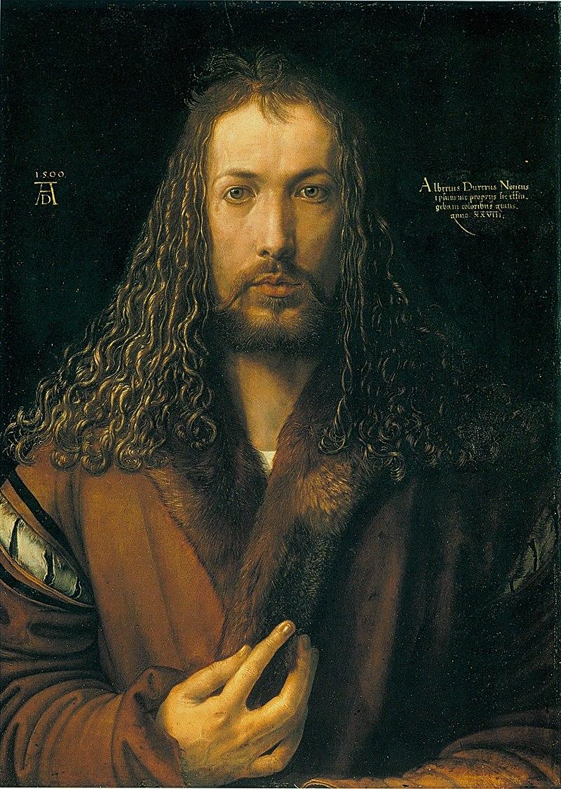 800px-Dürer_-_Selbstbildnis_im_Pelzrock_-_Alte_Pinakothek