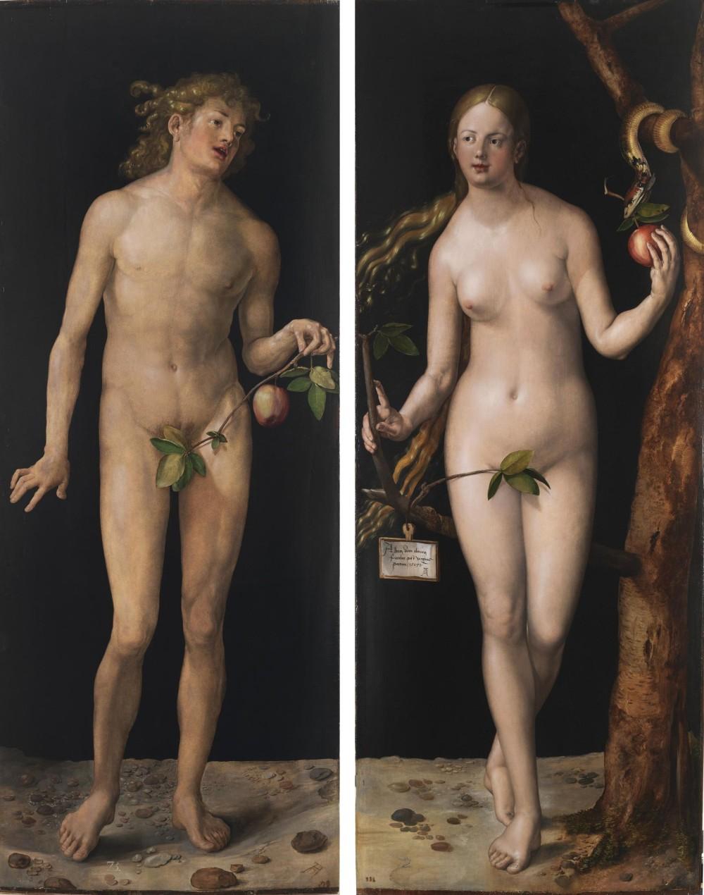 «Адам і Єва» (1507 р. Прадо, Мадрид)